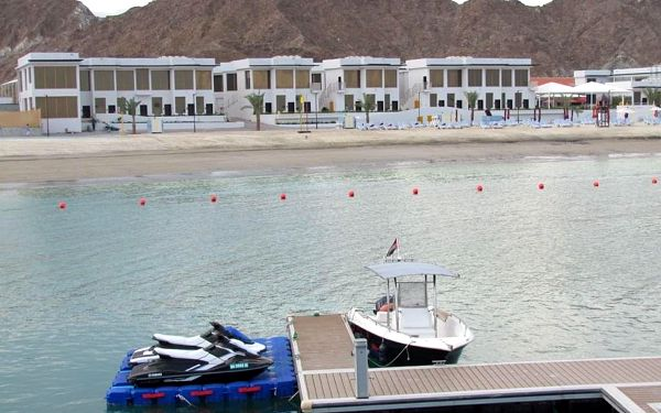 MIRAGE BAB AL-BAHR, Fujairah, letecky, all inclusive2