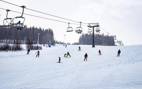 Víkend na lyžích v Malé Morávce