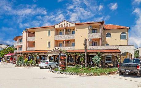 Chorvatsko: Istrie blízko Puly v Hotelu Koral *** jen 50 m od moře se snídaněmi + dítě do 7 let zdarma