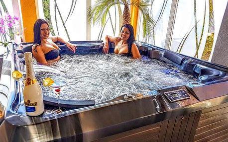 Heléna Hotel & Spa *** u lázeňského Mosonmagyaróváru s polopenzí a wellness
