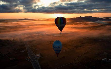 Privátní let balonem pro dva: Nebeská romantika