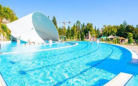 Maďarsko: Miskolc nedaleko jeskynních lázní v Park Hotelu *** s neomezeným wellness, půjčením kol a polopenzí