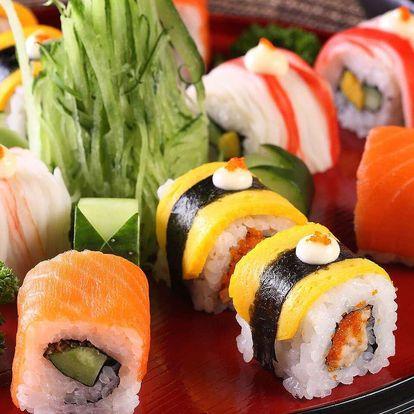 Sushi sebou 30% sleva na sushi v restauraci Sushi Oishi v centru Prahy