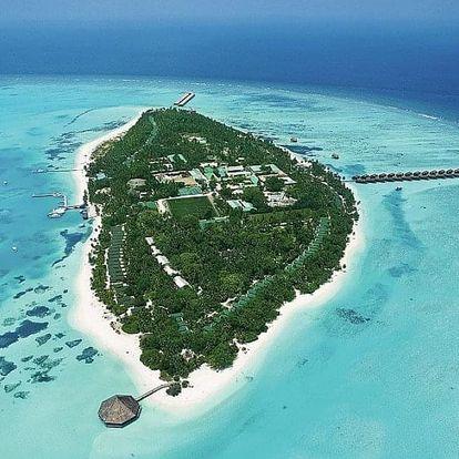 Maledivy letecky na 9 dnů, all inclusive