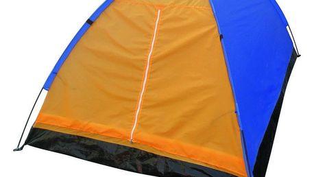 Nawalla Jednoplášťový stan pro 2 osoby oranžová, 210 x 150 x 110 cm