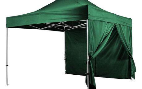 INSTENT PRO 64036 Boční stěna pro párty stan - zelená