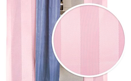 Koopman Sprchový závěs Leona růžová, 180 x 180 cm