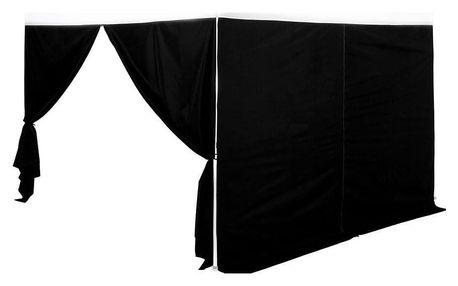 INSTENT PRO 64038 Boční stěna pro párty stan - černá