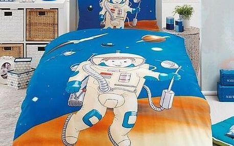 Matějovský Bavlněné povlečení Kosmonaut, 140 x 200 cm, 70 x 90 cm