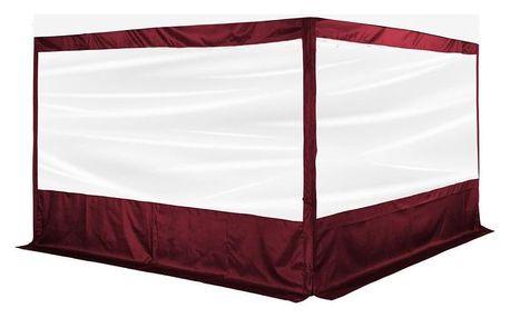 INSTENT PRO 64032 Boční stěna pro párty stan - červená