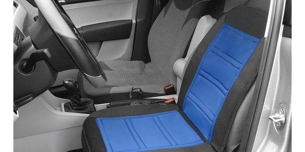 Compass Potah sedadla vyhřívaný s termostatem 12V LADDER modrý3