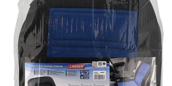 Compass Potah sedadla vyhřívaný s termostatem 12V LADDER modrý4