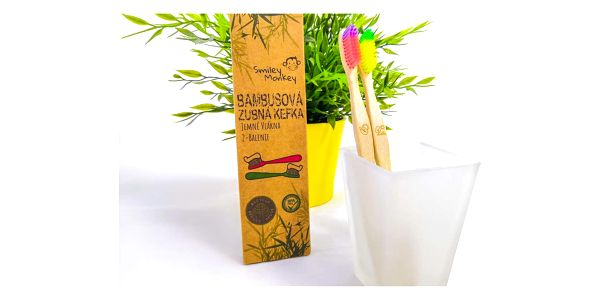 Bambusové zubní kartáčky – 2 ks v balení5