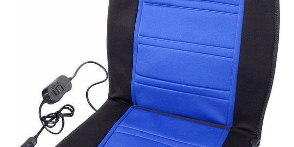 Compass Potah sedadla vyhřívaný s termostatem 12V LADDER modrý5