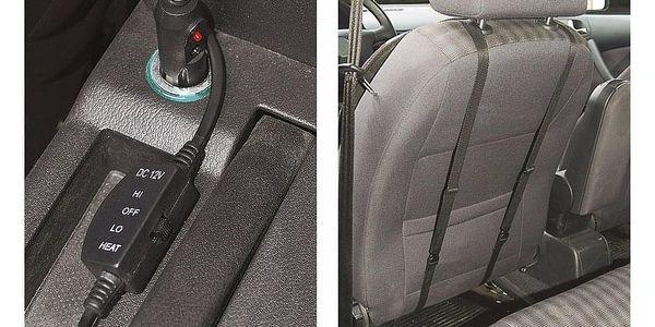 Compass Potah sedadla vyhřívaný s termostatem 12V TEDDY přední5
