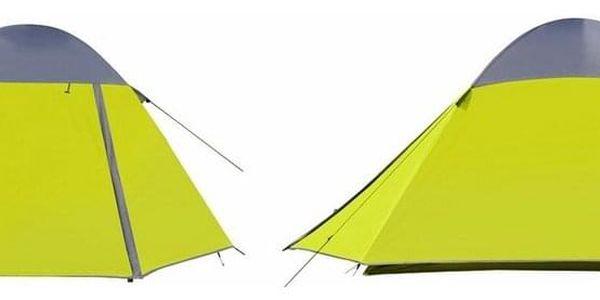 Cattara Dvouplášťový stan pro 3 osoby Trent, žlutá3