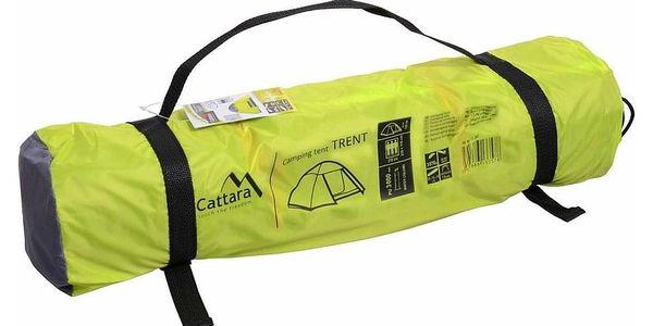Cattara Dvouplášťový stan pro 3 osoby Trent, žlutá4