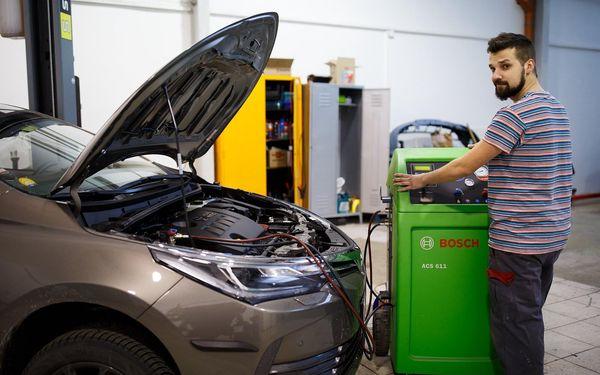 Čistění interiéru vozu a klimatizace (30 min.)3
