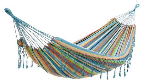 Houpací síť DUVLAN s krajkou 220 x 130 cm Barva: HA166