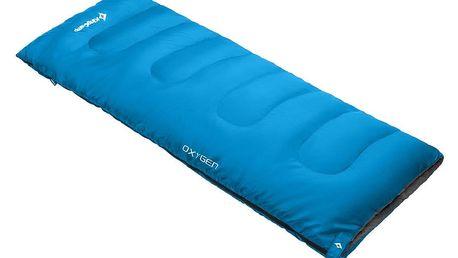 Spací pytel KING CAMP Oxygen - modrý - pravý zip