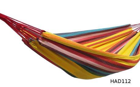 Houpací síť DUVLAN 220 x 130 cm Barva: HAD112