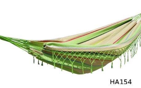 Houpací síť DUVLAN s krajkou 220 x 130 cm Barva: HA154