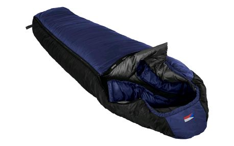 Spací pytel PRIMA Annapurna Short 180-75 modrý - levý zip