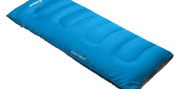 Spací pytel KING CAMP Oxygen - modrý - levý zip