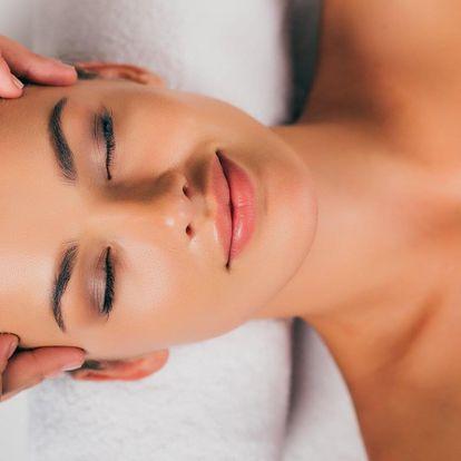 Kosmetické ošetření dle výběru nebo masáž či peeling