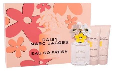 Marc Jacobs Daisy Eau So Fresh dárková kazeta pro ženy toaletní voda 75 ml + tělové mléko 75 ml + sprchový gel 75 ml