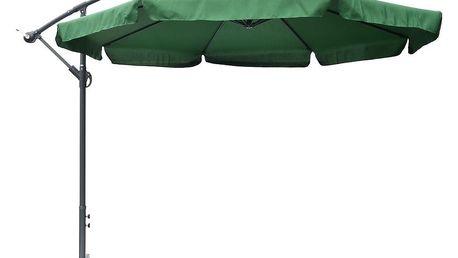 Slunečník EXCLUSIVE NEPROMOKAVÝ boční - zelený