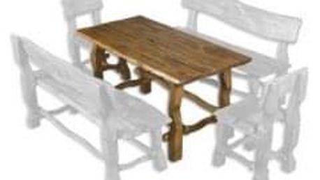 Zahradní stůl MO101 brunat