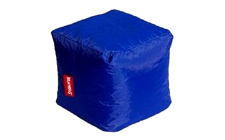 Sedací vak cube dark blue