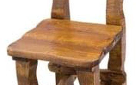 Zahradní židle MO100 bezbarvý lak