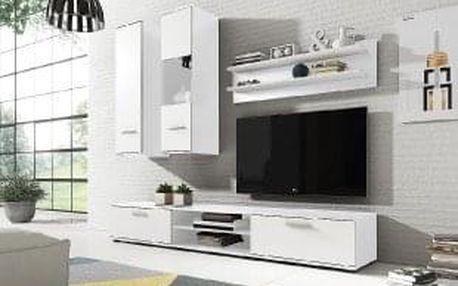 Obývací stěna GRINDA bílá