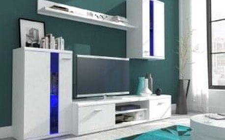 Obývací stěna ISOLA bílá