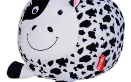 Sedací vak kráva Jitka, bílá/černá