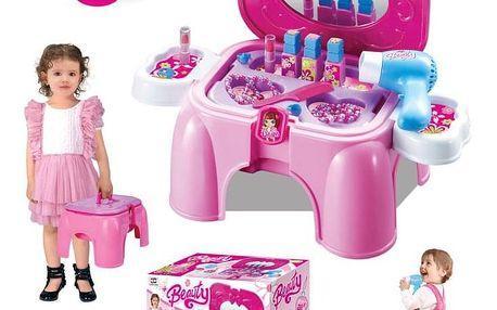 G21 52041 Hrací set Kosmetický stolek malý s příslušenstvím, sedátko