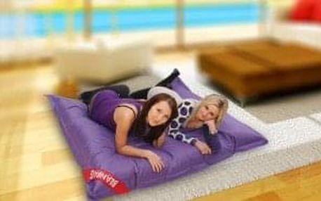 Sedací pytel 179x140 perfekt violet