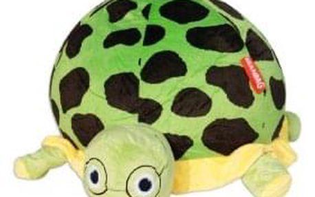 Sedací vak želva Turtlák, zelená/černá/žlutá