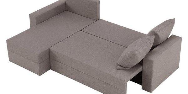 Univerzální sedací souprava, cappuccino, TOBIAS2