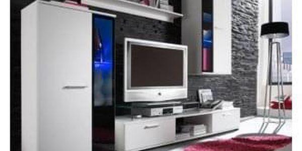Obývací stěna SALESA, bílá