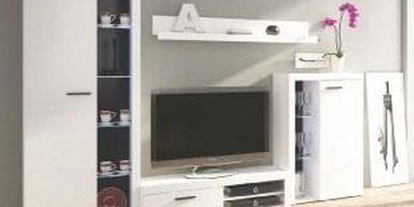 Obývací stěna RUMBA bílá