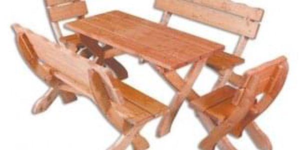 Zahradní stůl MO105 ořech