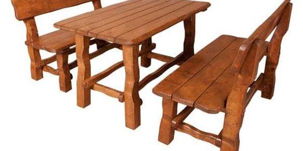 Zahradní stůl MO211 olše2