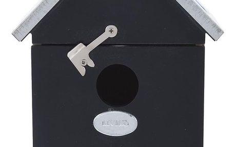 Koopman Ptačí budka Bird family, černá