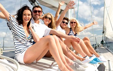8hodinová plavba po Lipně: plachetnice pro 5 osob