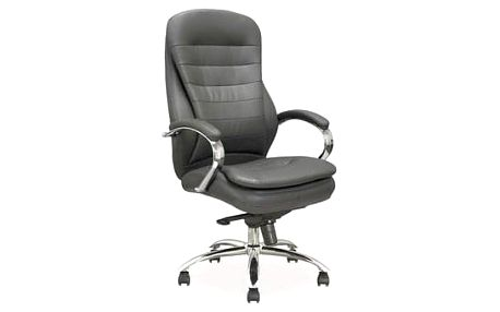 Kancelářské křeslo Q-154 šedé