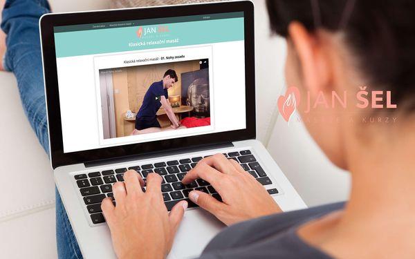 Online kurz klasické relaxační masáže s extra bonusy