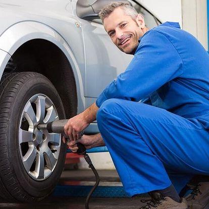 Přezutí pneumatik včetně vyvážení a dohuštění